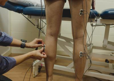 electrode placement hams and calves